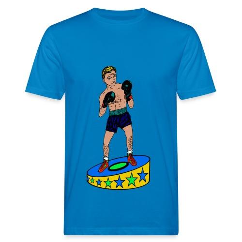 heren T-shirt bokser - Mannen Bio-T-shirt