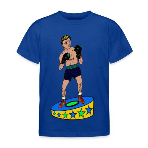 kinder T-shirt met een  bokser - Kinderen T-shirt