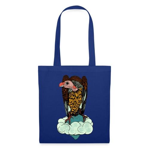 tas met een  gier - Tas van stof