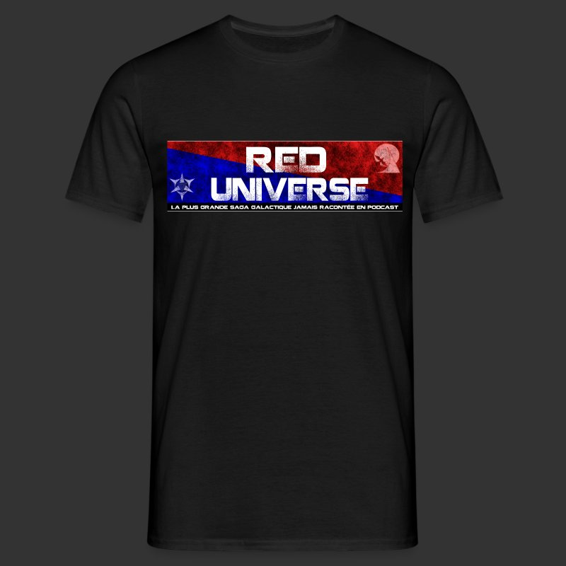 Red Universe - T-shirt Homme