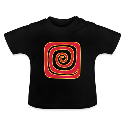 Quadrat_Spirale - Baby T-Shirt