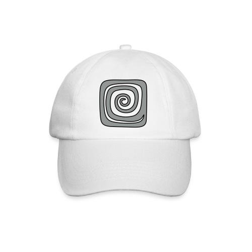 Quadrat_Spirale - Baseballkappe
