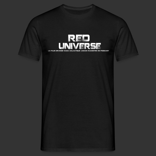 Red Universe texte - T-shirt Homme