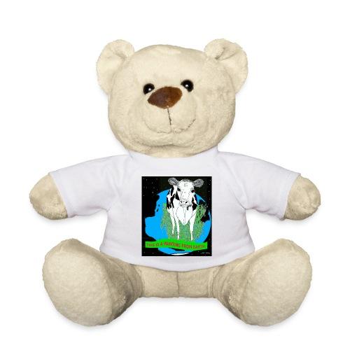 beer met een koe T-shirt - Teddy