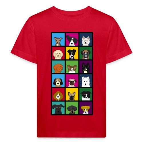 perros - Camiseta ecológica niño