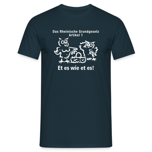 Artikel 1 - Männer T-Shirt