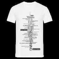 T-Shirts ~ Männer T-Shirt ~ Alles über Fitness  Motiv schwarz