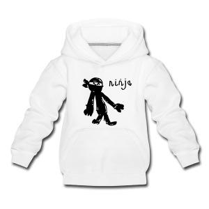 awesome NINJA hoodie (kids) - Kids' Premium Hoodie