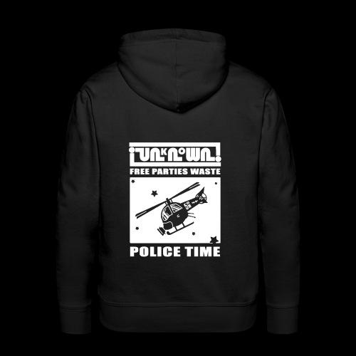 Police Hoodie - Men's Premium Hoodie