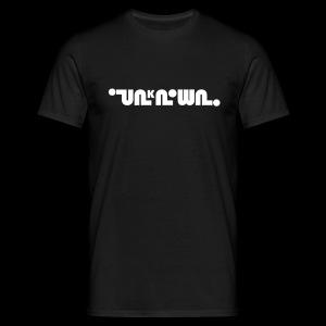 UNKNOWN LOGO TSHIRT - Men's T-Shirt
