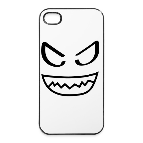 Iphonehoesje 4/4S: duivel - iPhone 4/4s hard case