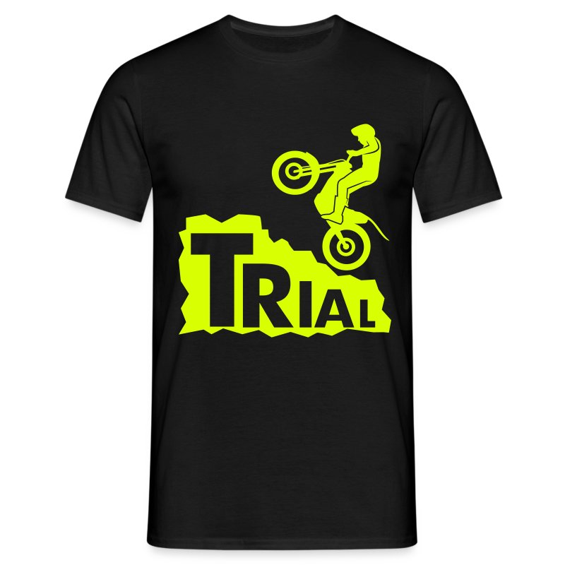 Trial Rock - Männer T-Shirt