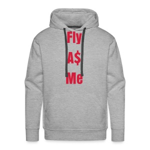 Fly A$ Me - Mannen Premium hoodie