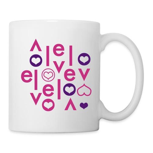 Mug Love Velo - Mug blanc