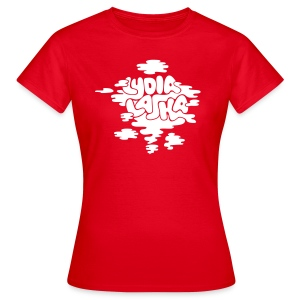 Lydia Laska red girlie - T-skjorte for kvinner