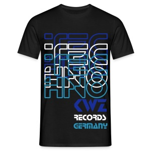 Techno KWZ Germany - T-Shirt - Männer T-Shirt