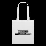 Bags & Backpacks ~ Tote Bag ~ Procatinator Bag (White)