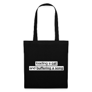 Bags & Backpacks ~ Tote Bag ~ Procatinator Bag (Black)