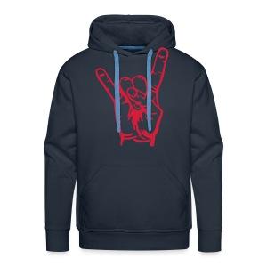 Rock On - Mannen Premium hoodie