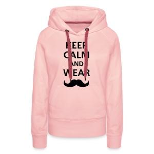 Keep calp and wear - Vrouwen Premium hoodie