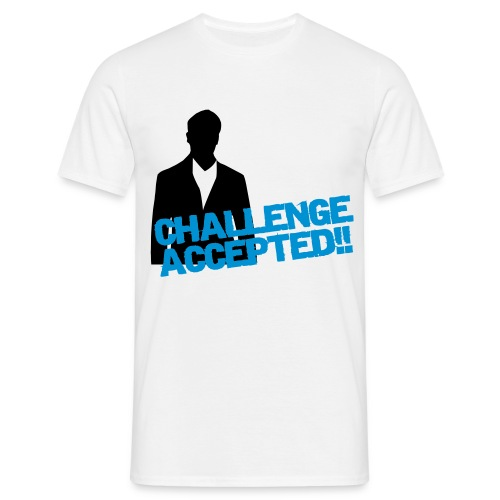T-Shirt Challenge Accepted - T-shirt Homme