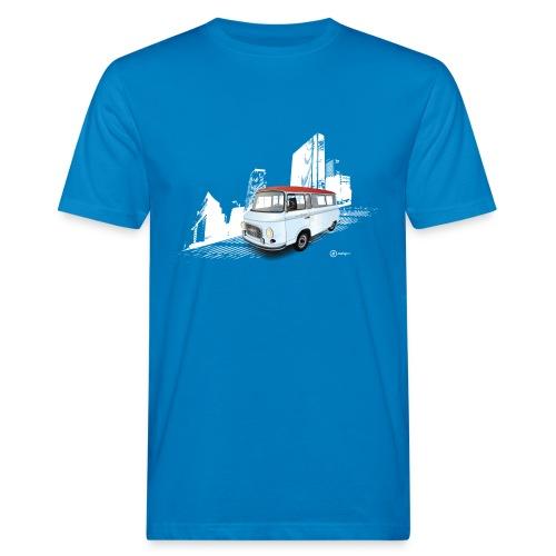 Barkas in der Stadt - Männer Bio-T-Shirt