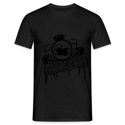 Fishing & Beer - Men's T-Shirt