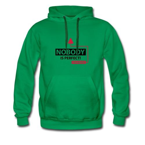 NOBODY IS PERFECT - Mannen Premium hoodie