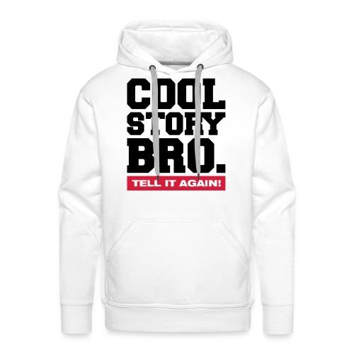 Jongens sweater  *limited edition* Cool Story Bro. - Mannen Premium hoodie