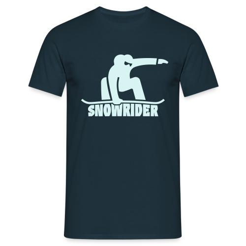 Snowrider - T-shirt Homme