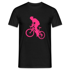 X-Country Black/Pink - T-shirt Homme