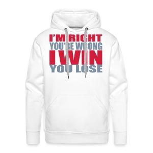 Warme trui - Mannen Premium hoodie