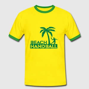 Beach Handball Shirt - Männer Kontrast-T-Shirt