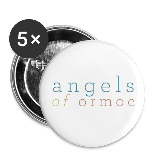 Angels of Ormoc Pins - Buttons large 2.2''/56 mm (5-pack)