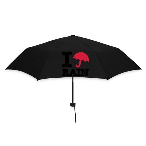 Paraplu I Love Rain - Paraplu (klein)