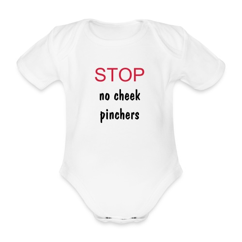Funny Kids - Organic Short-sleeved Baby Bodysuit