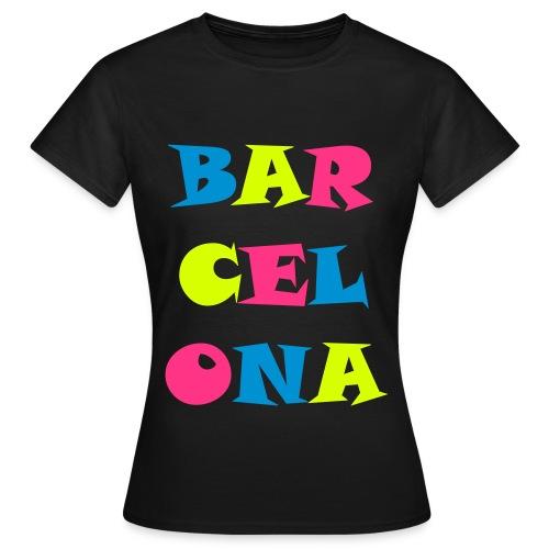 T-shirt Barcelona - T-shirt Femme