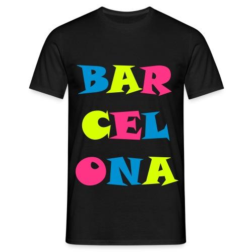 T-shirt Barcelona - T-shirt Homme