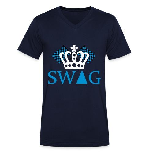 S.W.A.G. - Männer Bio-T-Shirt mit V-Ausschnitt von Stanley & Stella