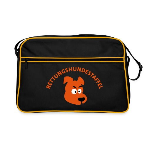 Rettungshundestaffel  - Retro Tasche