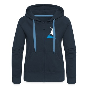freefall_mountain Hoodies & Sweatshirts - Women's Premium Hooded Jacket