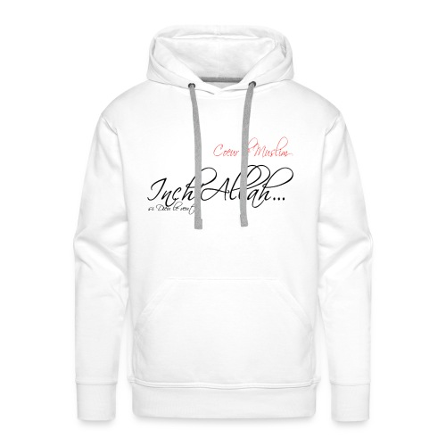 SWEAT A CAPUCHE IN SHA ALLAH - Sweat-shirt à capuche Premium pour hommes