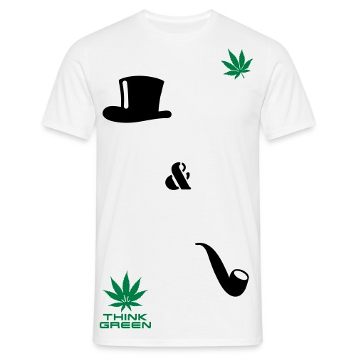 Hats and Pibes. - Herre-T-shirt