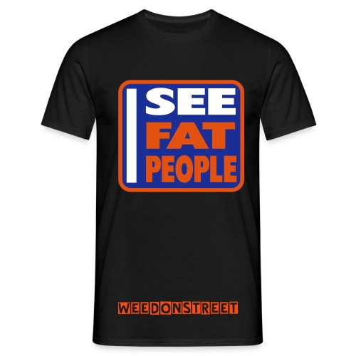 FatPeopleTee - Herre-T-shirt
