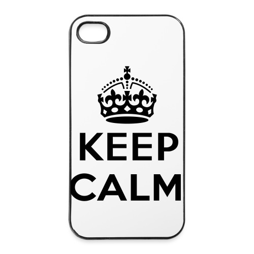 iPhone 4S Keep Calm phonecase. - iPhone 4/4s hard case