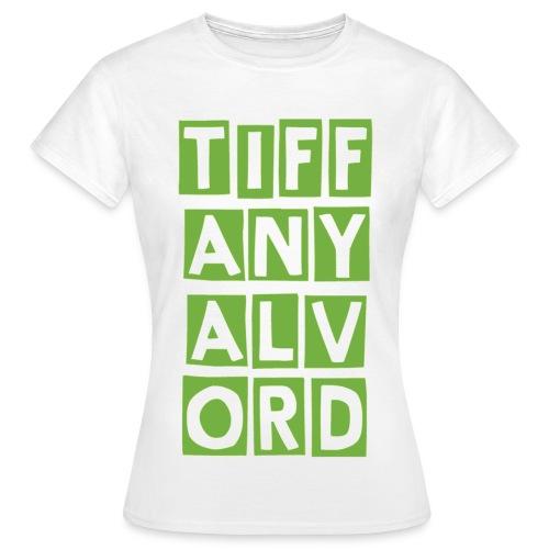 TIF-ANY-ALV-ORD LIME - Women's T-Shirt