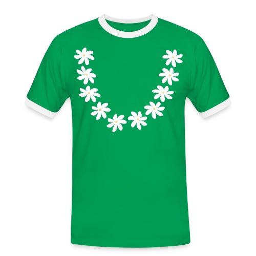 T-shirt collier tiare tahiti - T-shirt contrasté Homme