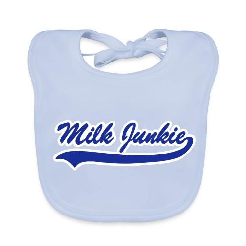 Milk Junkie MØRKEBLÅ på himmelblå - Baby biosmekke