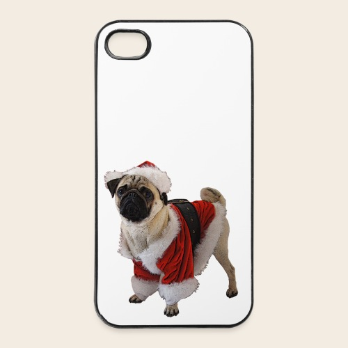 Weihnachtsmops 4 /4S case - iPhone 4/4s Hard Case