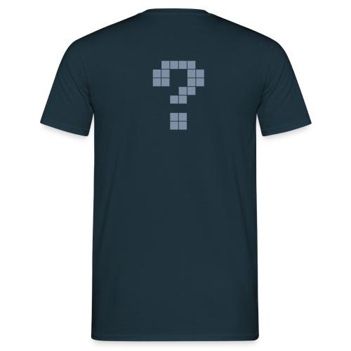 Fragezeichen-T-Shirt - Männer T-Shirt
